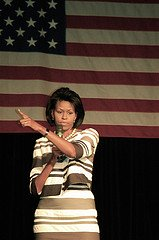 Michelle Obama, Michelle Obama Character, Strong, Powerful,